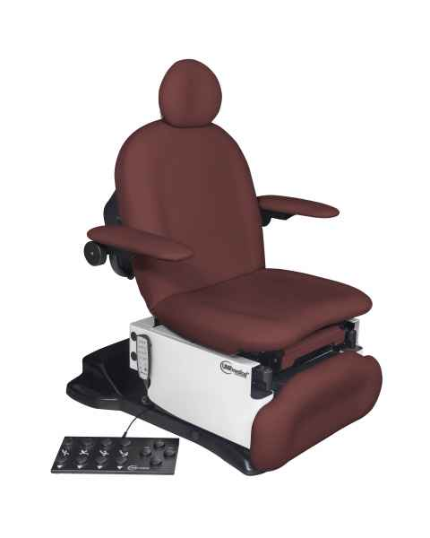 Model 4011-650-200 Power4011p Ultra Procedure Chair with Programmable Hand and Foot Controls - Fine Wine