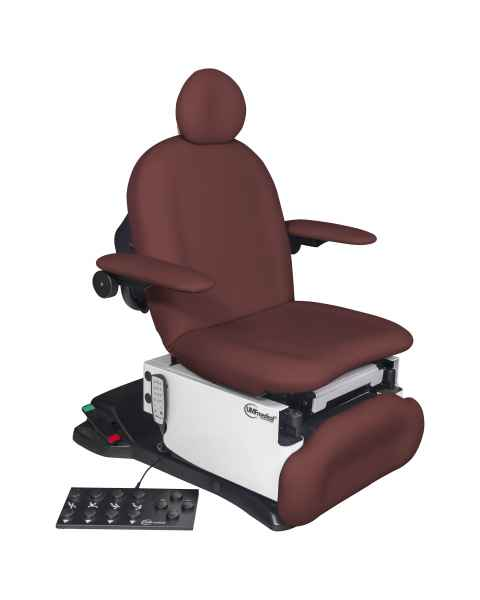 Model 4011-650-300 ProGlide4011 Ultra Procedure Chair with Wheelbase, Programmable Hand and Foot Controls