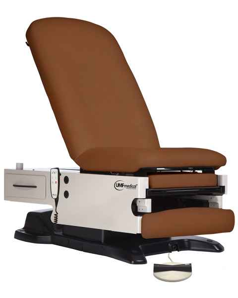 Power200 Power Exam Table with Power Hi-Low, Manual Back, Foot Control, and Programmable Hand Control