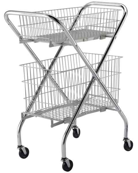 Lakeside Wire Basket Carts