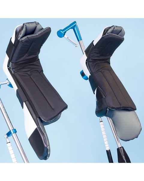 Replacement Boot Pads with Fins for SchureMed Great White Stirrups #800-0342-PL, #800-0342-PRF, and #800-0342-RF