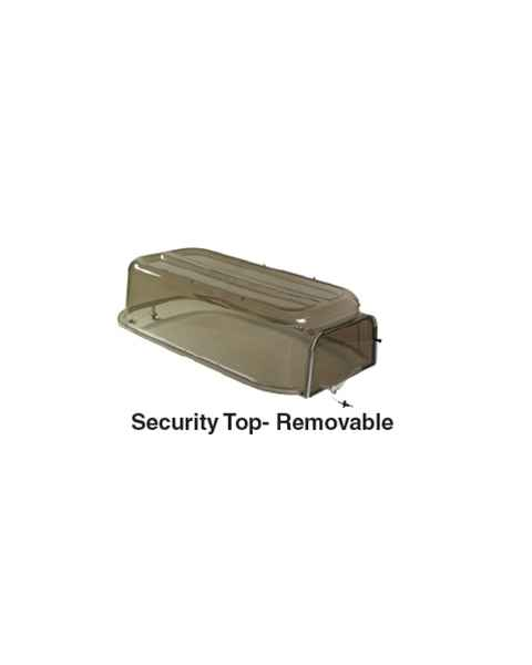 Croupette Security Top With Removable End For P-500 Pedigo 5107001