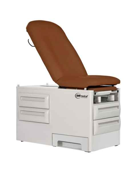 Signature Series proSideStep Manual Exam Table with Side Step and Four Storage Drawers