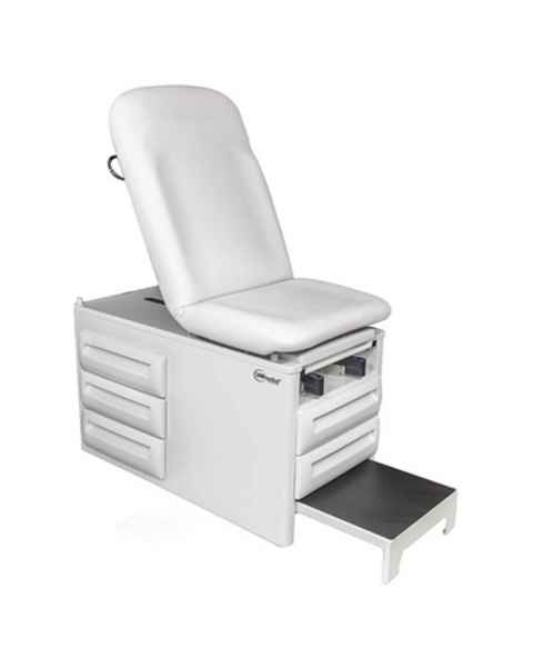 Model 5250 Manual Exam Table with Five Storage Drawers