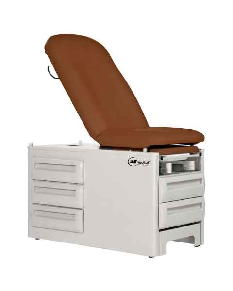 Model 5250 Signature Series Ultima Manual Exam Table with Five Drawers - Adobe