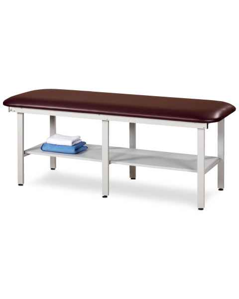 Clinton Model 6198 Alpha Series Bariatric Treatment Table with Shelf