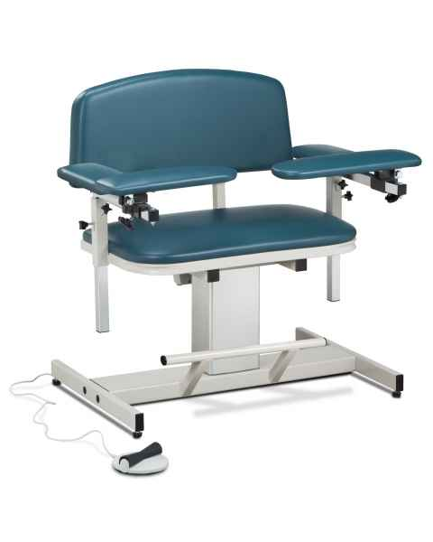 Power Series Extra Wide Blood Drawing Chair with Padded Arms
