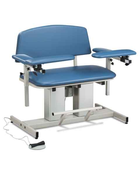 Power Series Bariatric Blood Drawing Chair with Padded  Arms