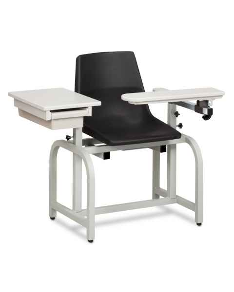 Standard Lab Series Blood Drawing Chair with Drawer and Flip-Arm