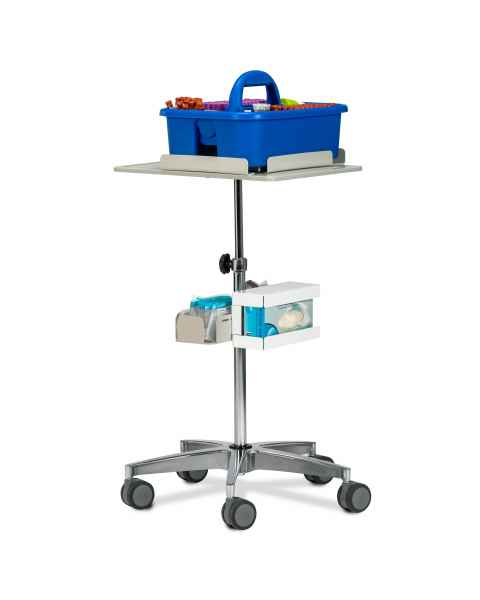 Clinton 67001 Phlebotomy Store & Go Cart (Tray pictured on top and all supplies shown not included)
