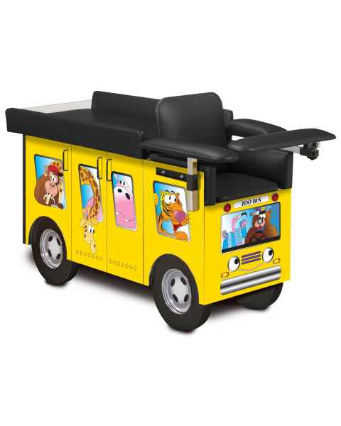 Clinton 67020 Pediatric Blood Drawing Station - Zoo Bus Graphics