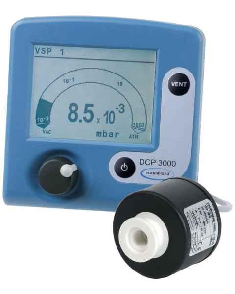 BrandTech VACUUBRAND DCP3000 Vacuum Gauge with VSP3000 External Sensor 100-230V 50-60Hz