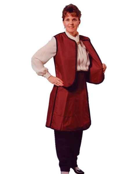 Plain Back - Vest & Skirt - Regular Lead Apron