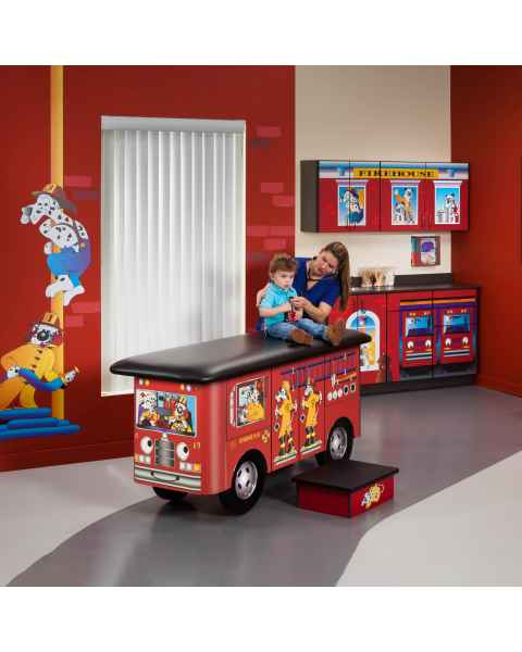 Clinton Model 7030-X Complete Engine K-9 Pediatric Treatment Table & Cabinets