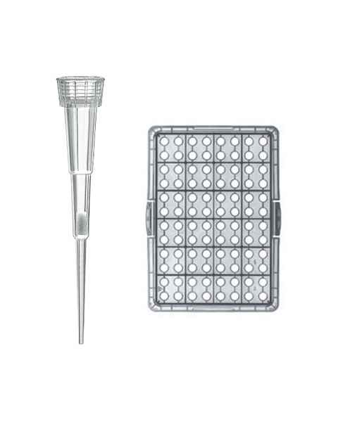 BRAND Bio-Cert Sterile Ultra Low Retention Nano-Cap Filter Pipette Tip-Box 0.1-1uL