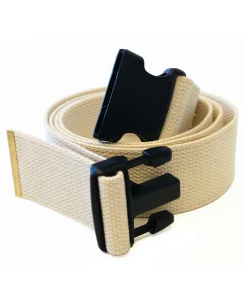 Cotton Gait Belt with Plastic Side Release Buckle #7050N