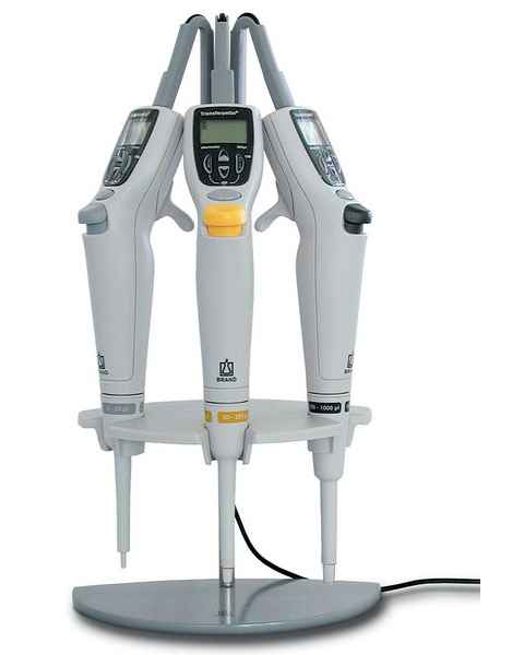 BrandTech Charging Stand for Transferpette Eelectronic Single Chanel Pipettes
