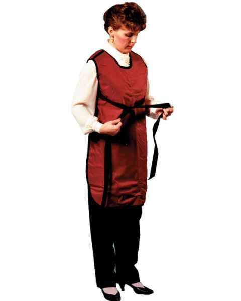 Plain Back - Strap Closure - Regular Lead Apron
