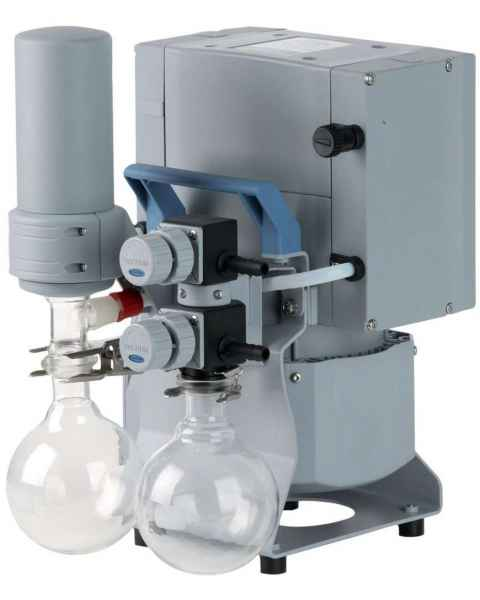 BrandTech VACUUBRAND MD4C NT+AK Synchro+EK Chemistry Vacuum Pump System 120V 60Hz