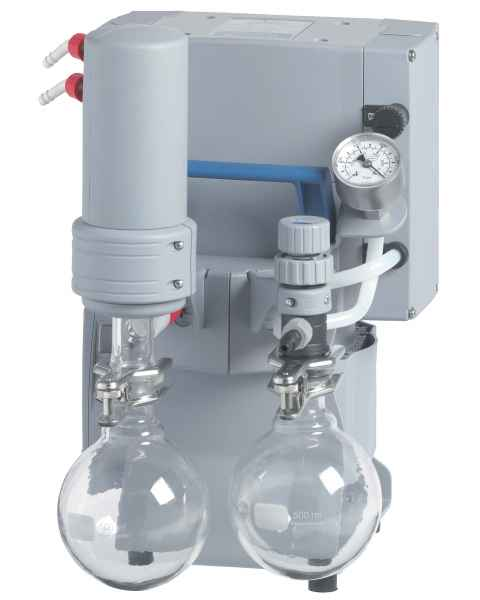 BrandTech VACUUBRAND PC201 NT Dry Chemistry Vacuum Pump System 120V 50-60Hz