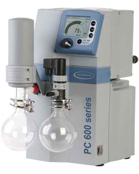 BrandTech VACUUBRAND PC610 NT Dry Chemistry Vacuum Pump System 120V 50-60Hz