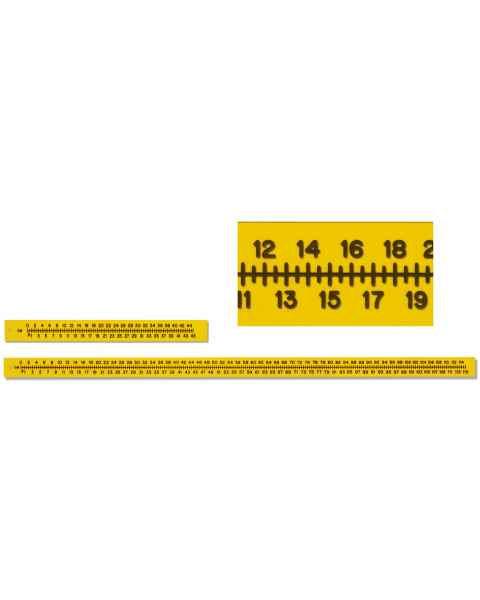 Flexible Plastic Radiopaque Extremity Rulers