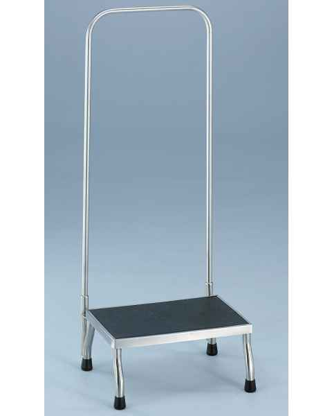 Blickman Non-Magnetic Foot Stool with Handrail