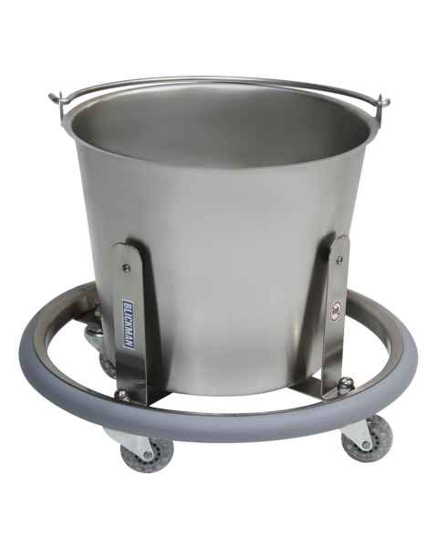 Stainless Steel Lenox Kick Bucket with 13 Qt. Pail