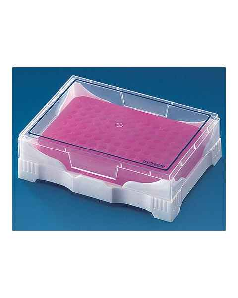 BrandTech PCR Mini-Cooler with Transparent Lid - Pink