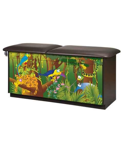 Clinton Imagination Series Rainforest Follies Pediatric Treatment Table