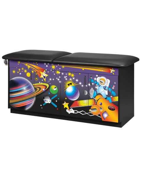 Clinton Imagination Series Space Place Pediatric Treatment Table