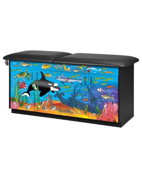 Clinton Imagination Series Ocean Commotion Pediatric Treatment Table