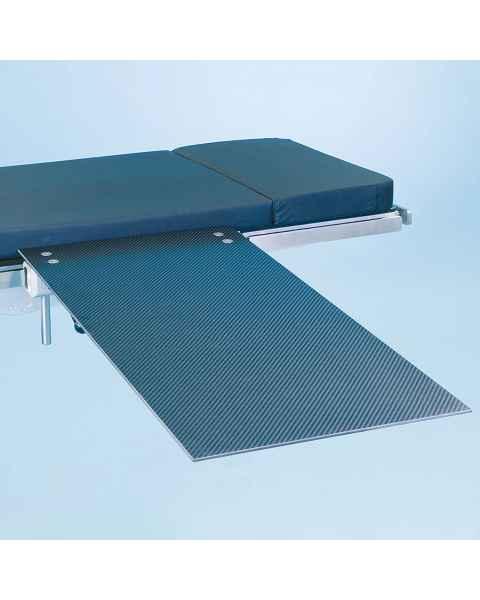 SchureMed 800-0026 Rectangle Carbon Fiber Minor Procedure Table