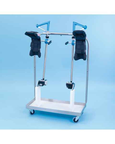 SchureMed 800-0074-P Pediatric Stirrup Dolly (Stirrups and Boot Pads are for display purposes only)