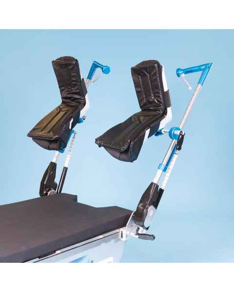 SchureMed 800-0342-R Great White Robotic Stirrups with No Fin Boots