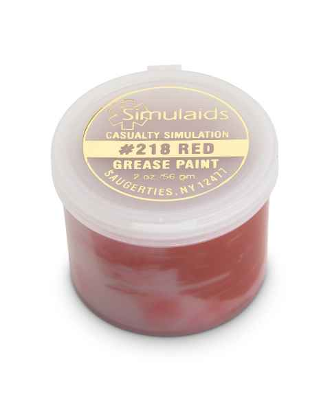 Life/form Moulage Grease Paint - 2 oz. - Red