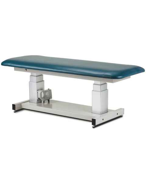 "Clinton 80061-X 34"" Wide General Ultrasound Power Table with Flat Top"