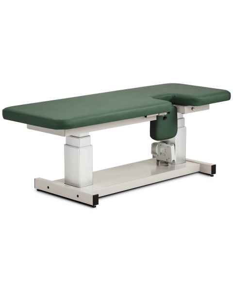 "Clinton 80071 27"" Wide Imaging Trendelenburg Power Table Flat Top"