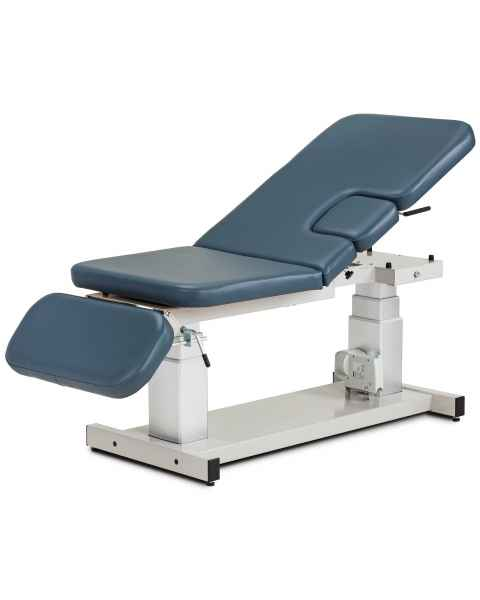 """Clinton 80073-X 34"""" Wide Power Imaging Trendelenburg Table with Three-Section Top & Drop Window"""