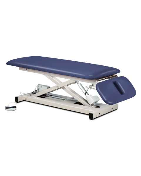 Space Saver Power Table with Drop Section