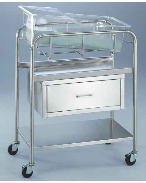 Bassinet with Drawer & Shelf