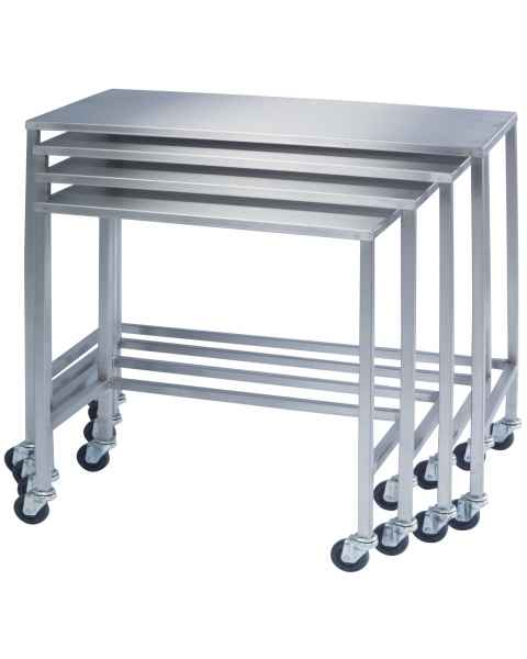 Lakeside Stainless Steel Nesting Instrument Tables