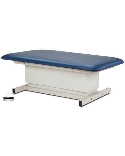 Clinton Model 84108 Extra Wide Bariatric Shrouded Power Table with Straight Top