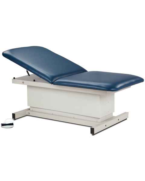 Clinton Model 84208 Extra Wide Bariatric Shrouded Power Table with Adjustable Backrest