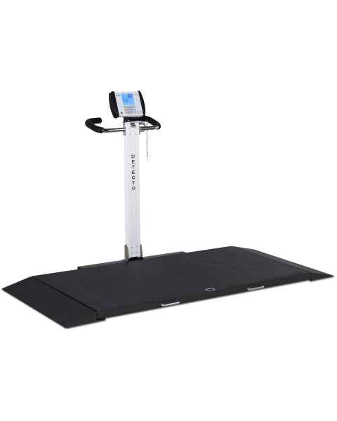 Detecto 8550 Portable Digital Stretcher Scale with Folding Column Indicator