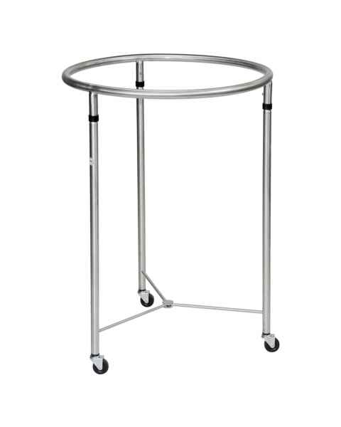 Stainless Steel Round Hamper