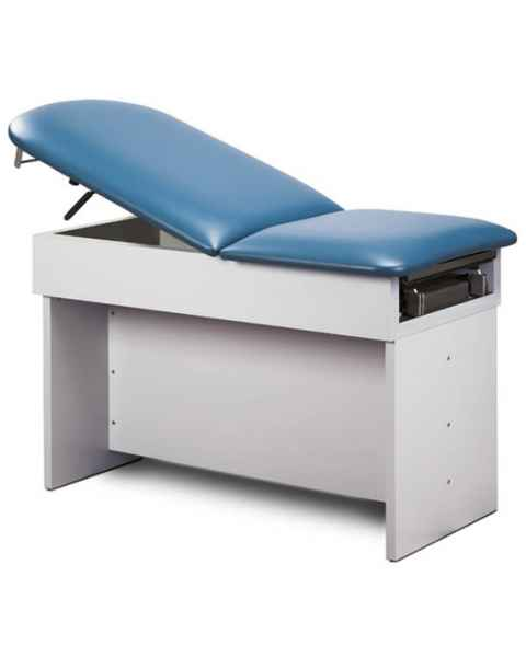 Clinton 8860 Family Practice Table with Panel Leg