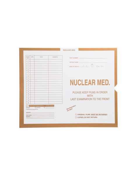 Insert Envelopes - Nuclear Medicine