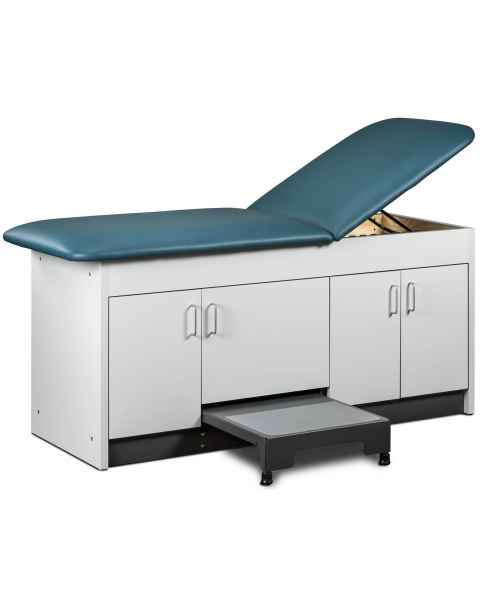 "Clinton 9704-24 Cabinet Style Step-Up Treatment Table with 4-Door - 27"" Width"