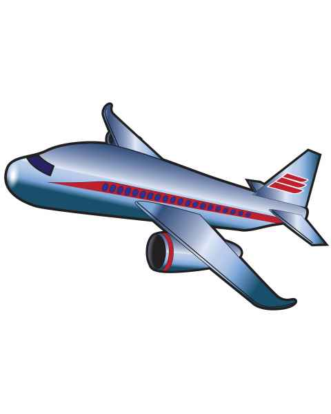 Clinton 9723 Airplane Graphic